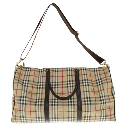 Burberry Travel bag with Nova check pattern