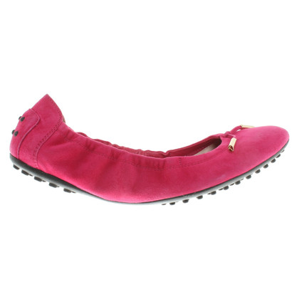 Tod's Ballerinas in Pink