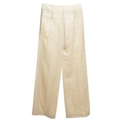 Armani Collezioni Pantaloni in crema