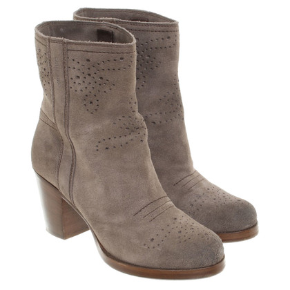 Car Shoe Ankle boots suede