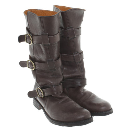 Fiorentini & Baker Anthracite leather boot