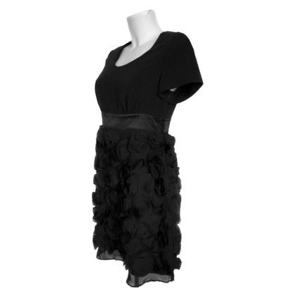 Twin-Set Simona Barbieri Dress with silk roses