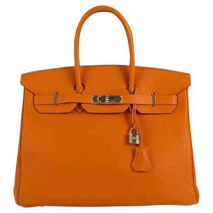 "Hermès ""Birkin Bag 35 Togo Orange PHW"""