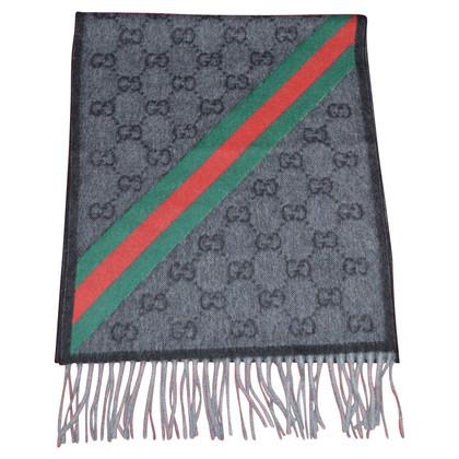 Gucci sciarpa Guccissima