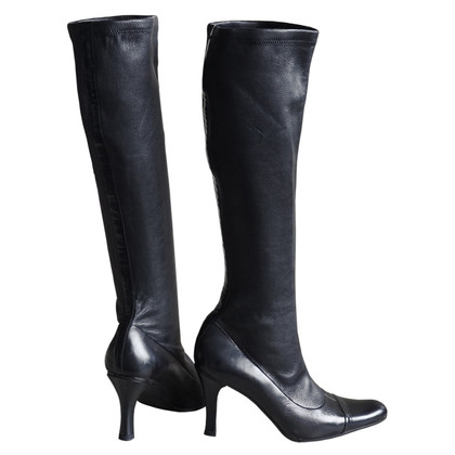 Chanel Stretch leather boots