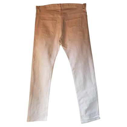 Christian Dior Witte spijkerbroek
