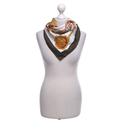 Aigner Silk scarf with print