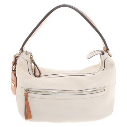 Gucci Leather handbag in cream white