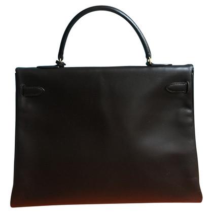 "Hermès ""Kelly Bag 35 Box Calf Leather"""