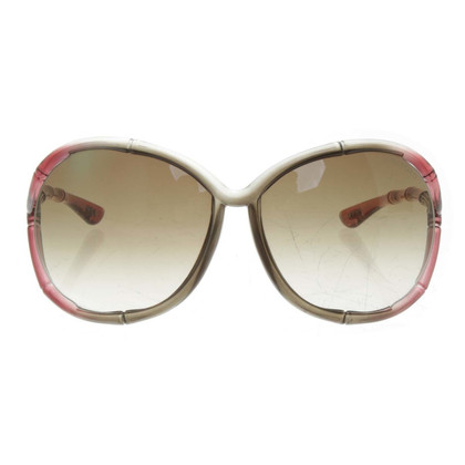 "Tom Ford Sonnenbrille ""Claudia"" in Bicolor"