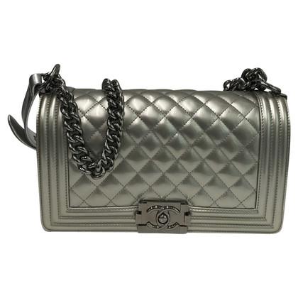 Chanel Chanel Boy Silver