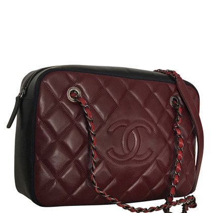 Chanel Camera Bag in Bordeaux