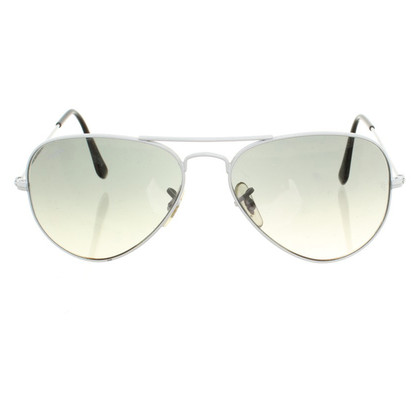 "Ray Ban Zonnebril ""Aviator"" in White"