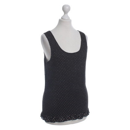 DKNY top with dot pattern