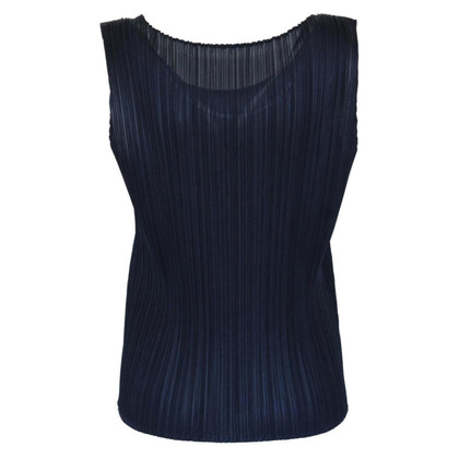 Issey Miyake Top con pieghe