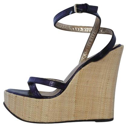 Dolce & Gabbana Eeel wedge shoe