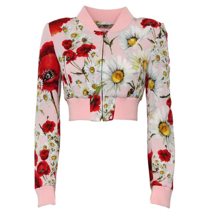 Dolce & Gabbana Short bomber jacket