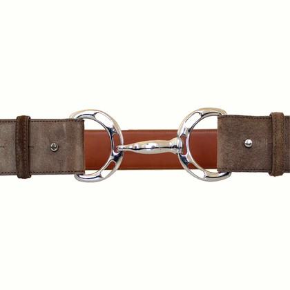 Ralph Lauren Cintura in pelle scamosciata