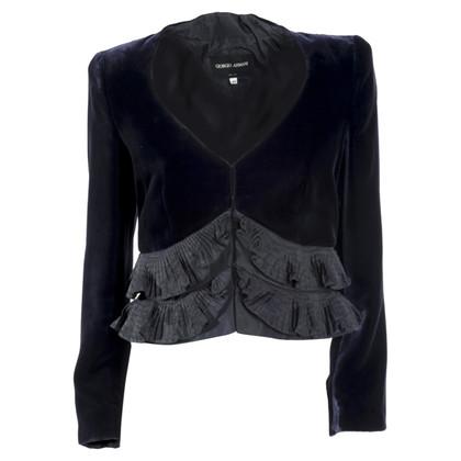 Giorgio Armani Velvet jacket