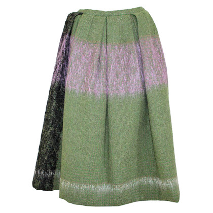 Dries van Noten Wollen rok