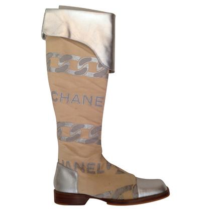 Chanel Overknee-Stiefel