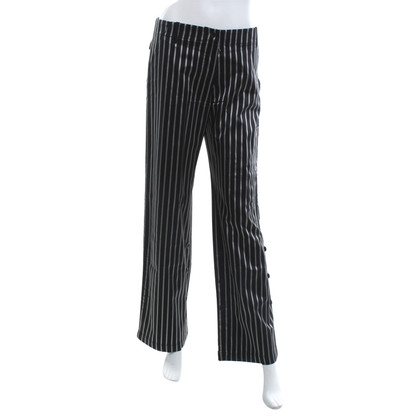 Armani trousers with stripe pattern
