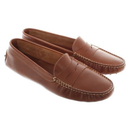 Tod's mocassins Brown