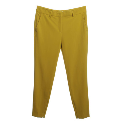 René Lezard Pants in mustard yellow
