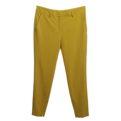 René Lezard Pantaloni in giallo senape