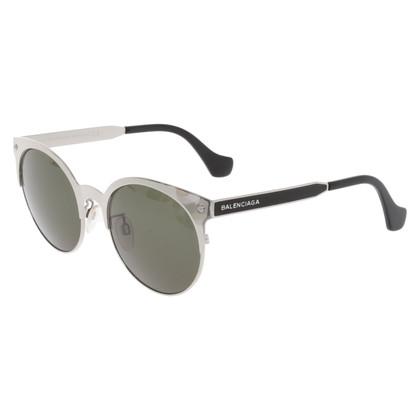 Balenciaga Occhiali da sole in argento
