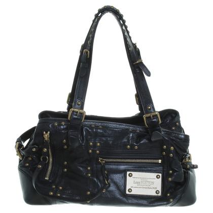 Louis Vuitton Hand bag with rivets elements