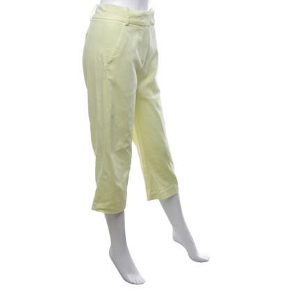 Dondup Pantalon en jaune citron