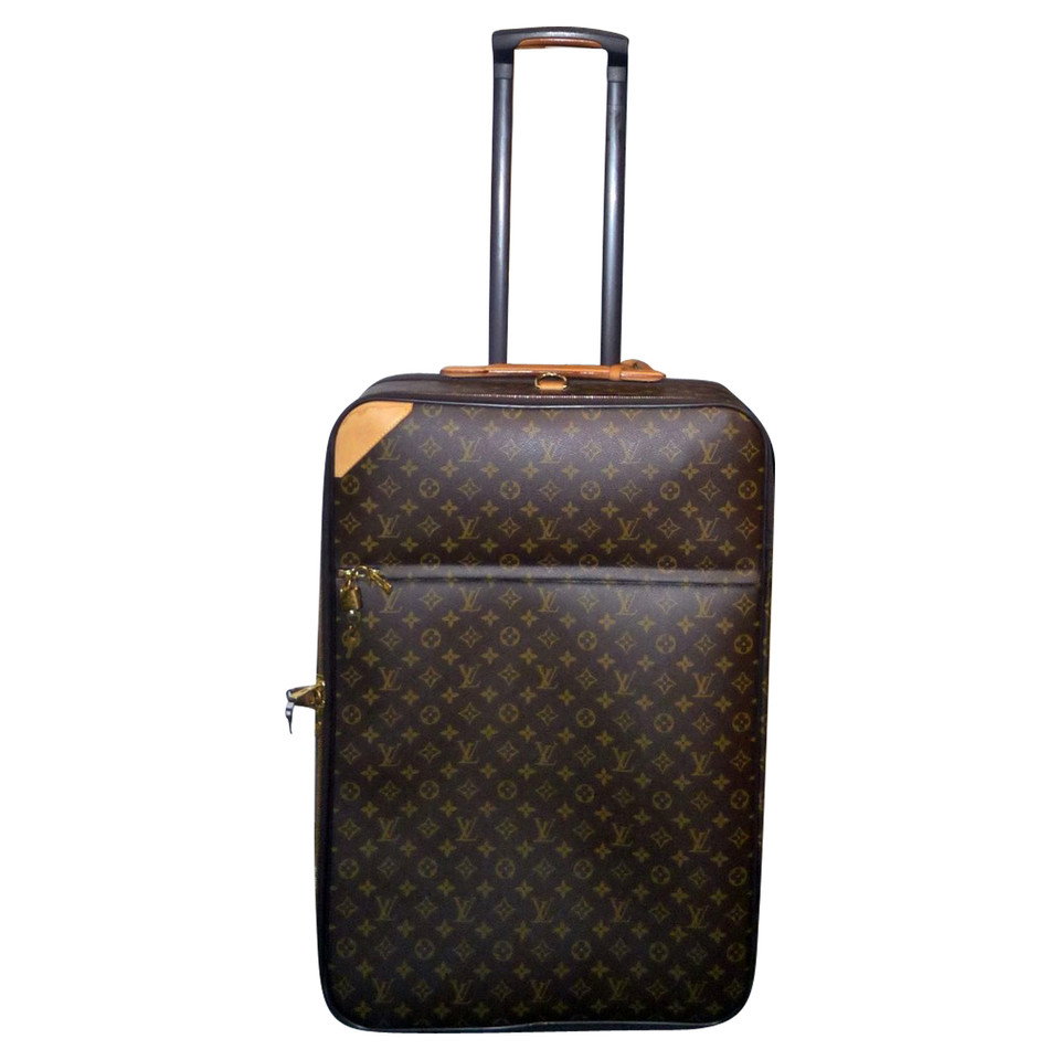 louis vuitton trolley aus monogram canvas second hand louis vuitton trolley aus monogram. Black Bedroom Furniture Sets. Home Design Ideas