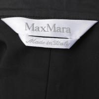 Max Mara Wickelkleid in Schwarz