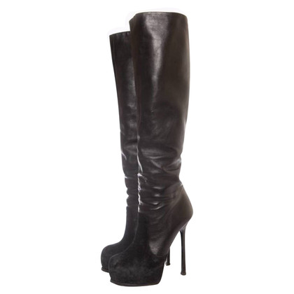 Yves Saint Laurent Overknee boots