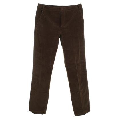 Strenesse Fluwelen broek in bruin