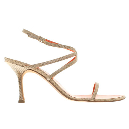 Escada Sandals made of reptile leather