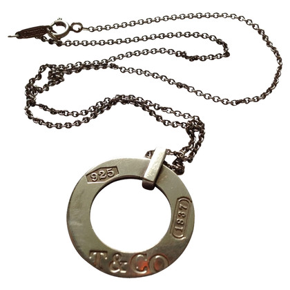 Tiffany & Co. Circle pendant with chain