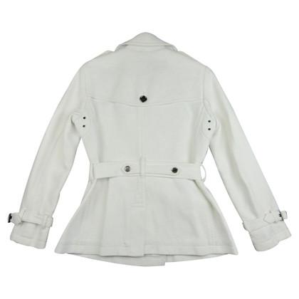 Burberry Trenchjacke in Weiß