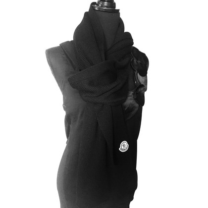 Moncler sciarpa nera