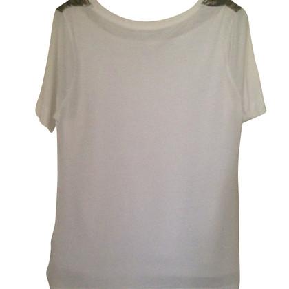 Claudie Pierlot Shirt in wit / goud