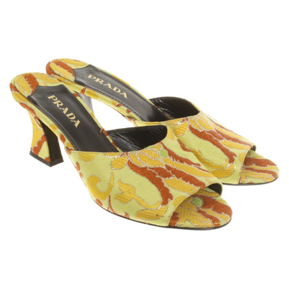 Prada Sandals with pattern