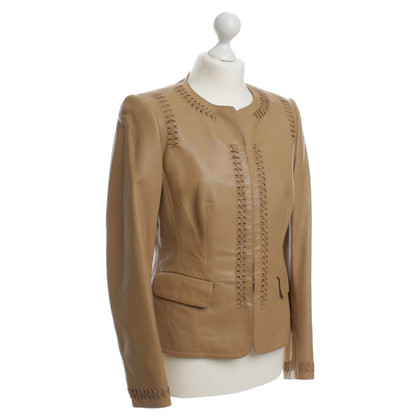 Rena Lange Light brown leather jacket