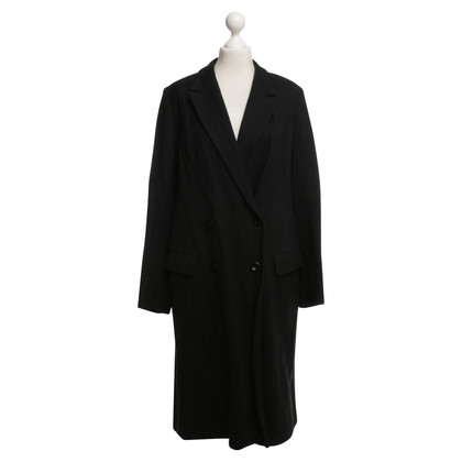 Dries van Noten Coat in zwart