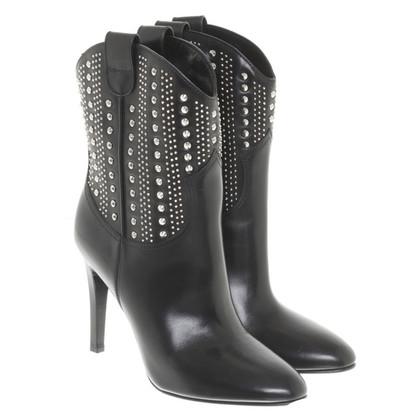 Saint Laurent Ankle boots with rivets