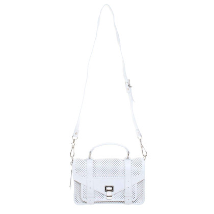 Proenza Schouler Handtasche aus perforiertem Leder