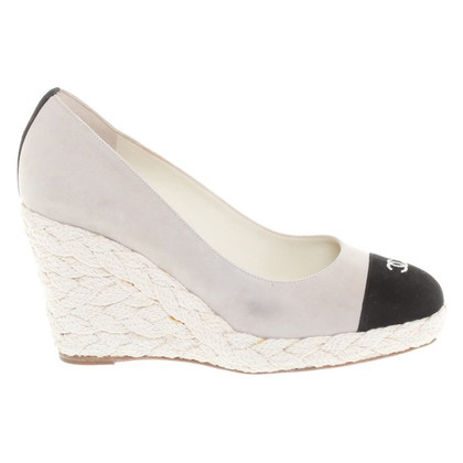 Chanel pumps beige/nero
