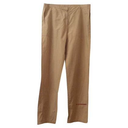 Prada Pantalone sportivo beige 48