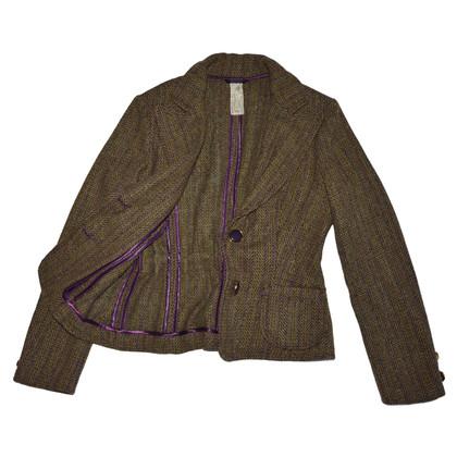 Schumacher Brown lamb wool jacket