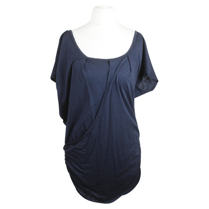 Velvet T-Shirt with Wrap